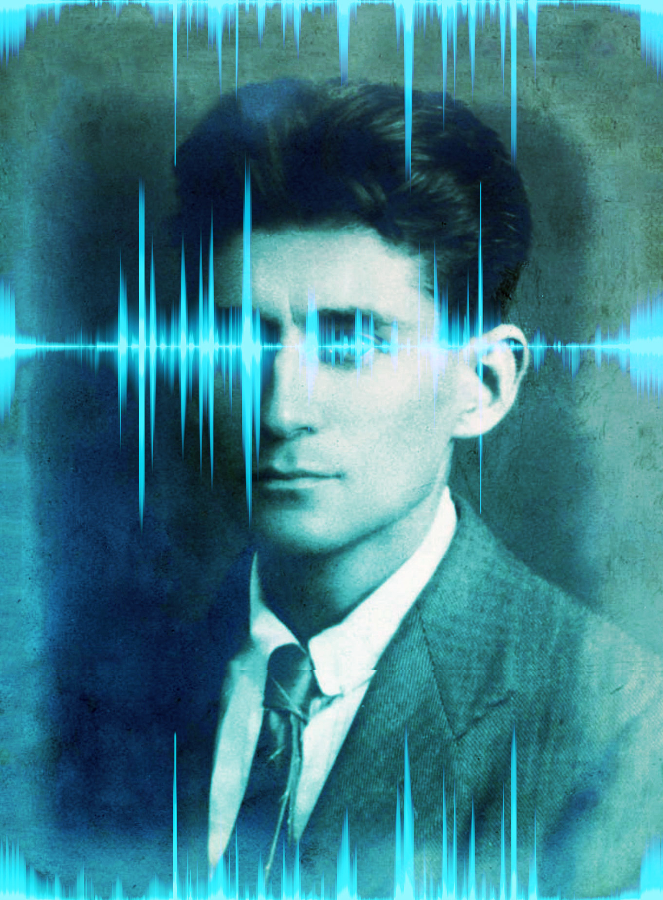 Kafka intersected with sound waves.