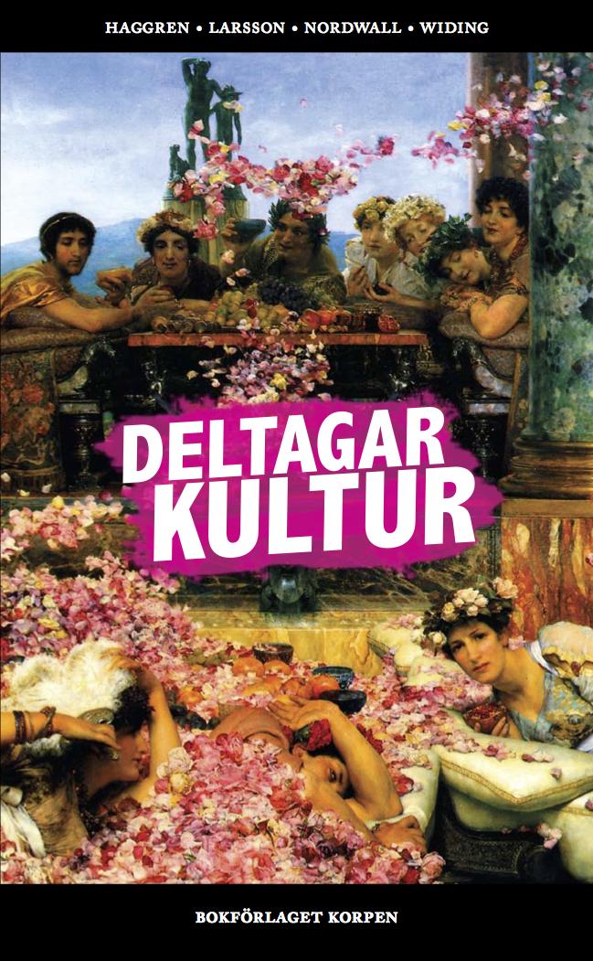Deltagarkultur, omslag